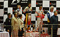 2008 Singapore Grand Prix podium.jpg