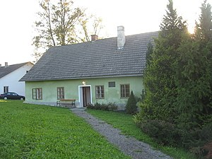 Engelbert Dollfuss - Dollfuss' birthplace in Texing