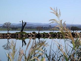 Mitchell River (Victoria) - Image: 20100311 Mitchell River Silt Jetties