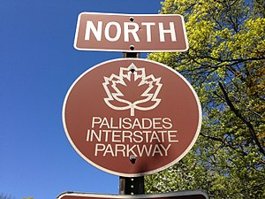 Palisades Interstate Parkway - Palisades Interstate Parkway trailblazer