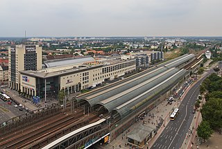 railway station situated in the Spandau district of Berlin, Germany