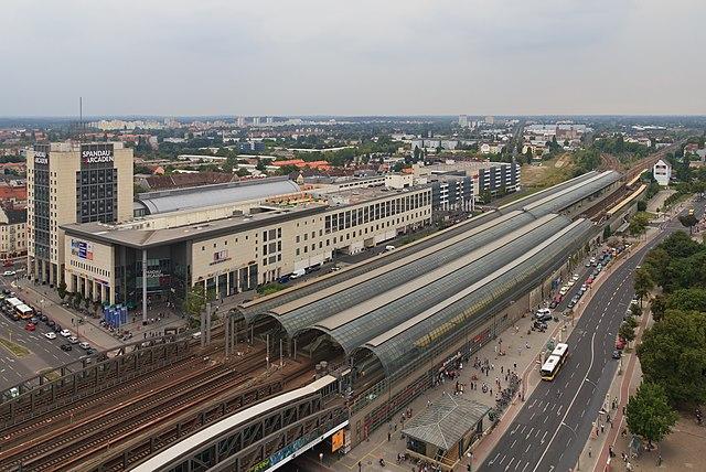 Gare de Berlin Spandau