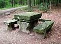 20130912070DR Obernaundorf (Rabenau) Poisenwald Steinerner Tisch.jpg