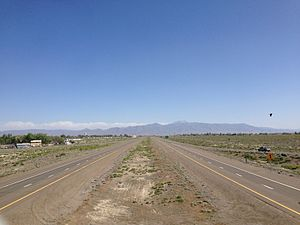 Battle Mountain, Nevada - I-80 in Battle Mountain