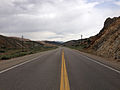 2014-08-11 10 20 55 View west along U.S. Route 50 about 64.5 miles east of the Eureka County line near Ely, Nevada.JPG