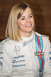Susie Wolff Britsh racing driver