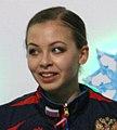 2014 ISU Junior Grand Prix Final Daria Beklemisheva Maxim Bobrov Sergei Komolov IMG 2100 (cropped).JPG