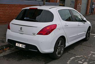 Peugeot 308 - Facelift of 2011