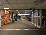 2015-04-13 23 42 28 View towards the International Terminal and Concourse D from the inner end of Concourse C in Salt Lake City International Airport, Utah.jpg