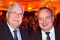 2015-12-02 Stadtkulturpreis Hannover, (1075) Kaufleutelobbyist Bernd Voorhamme und VGH-Vorstandsvorsitzender Hermann Kasten.JPG