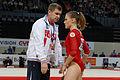 2015 European Artistic Gymnastics Championships - Vault - Ksenia Afanasyeva 07.jpg