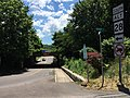 2016-06-18 12 40 21 View south along West Virginia State Route 28 Alternate (Mulligan Street) at Bridge Street in Ridgeley, Mineral County, West Virginia.jpg