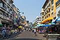 2016 Bangkok, Dystrykt Phra Nakhon, Ulica Khaosan (01).jpg