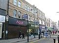 2016 Woolwich, Powis Street shops 07.jpg
