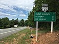 2017-06-25 14 31 21 View north along Virginia State Route 122 (Booker T Washington Highway) just north of Wrays Chapel Road (Virginia State Secondary Route 859) in Rocky Mount, Franklin County, Virginia.jpg