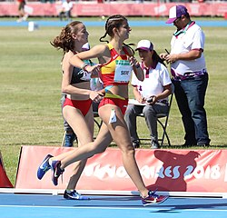 2018-10-14 Heat 1 (Girls 800 metres Stage 2) at 2018 Summer Youth Olympics by Sandro Halank–038.jpg