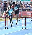 2018-10-16 Stage 2 (Boys' 400 metre hurdles) at 2018 Summer Youth Olympics by Sandro Halank–095.jpg