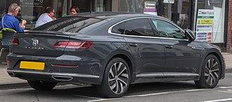 Fastback - Volkswagen Arteon, a modern 4-door fastback