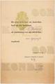 21 juli 1945 Oorkonde gemeente Amsterdam HN Werkman Prijs voor Typografie.png