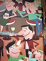 241 Mural a la cantonada dels carrers Lleida i Tamarit.jpg