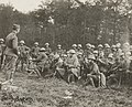 2nd Battalion 318th Infantry on October 26, 1918 at Le Neufour, France receiving Phosphorus rifle and hand grenade training, from- 111-SC-31950 - NARA - 55223058 (cropped).jpg