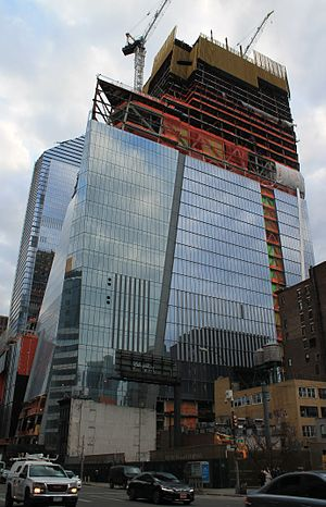 30 Hudson Yards - Under construction in March 2017