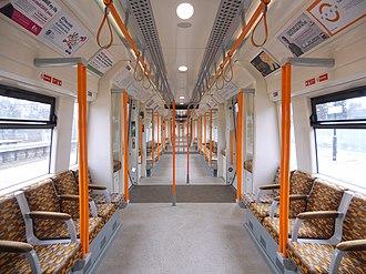 British Rail Class 378 - Image: 378201 MSO DMSO Interior