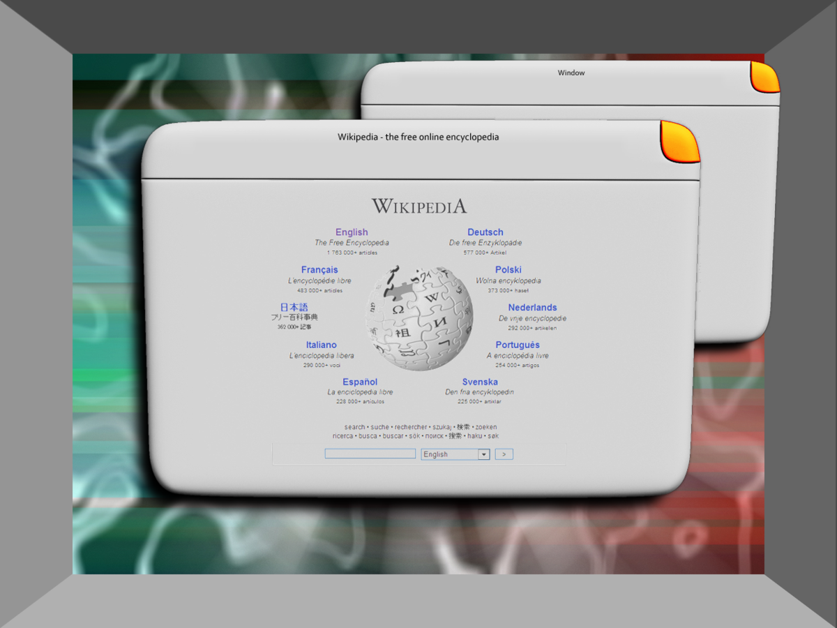 Wikipedia Graphical User Interface
