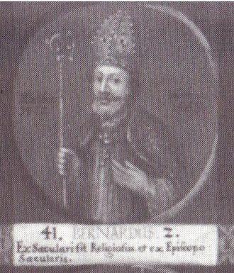 Bernard II, Duke of Brunswick-Lüneburg - Bernard II, 41st bishop of Hildesheim