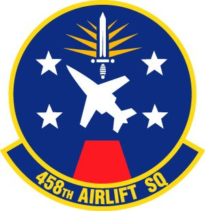 458th Airlift Squadron - 458th Airlift Squadron Patch