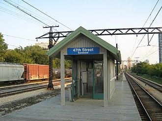 47th Street (Kenwood) station - Image: 47th Kenwood Metra Station