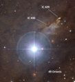 49 Ori - IC 430 - IC 429 - DSS2 labbeled.png