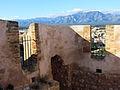 501 Castell de la Suda (Tortosa), tram de la muralla oest.JPG