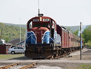 Tioga Central Railroad - Image: 506 ENGINE