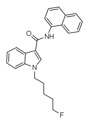 5F-NNE1 - Image: 5F NNE1 structure