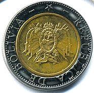 Five-boliviano coin, 2004 (bimetallic)