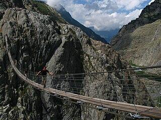 Trift Bridge footbridge