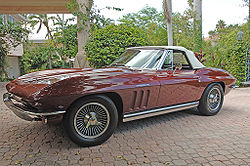 1965 Corvette 327/375 hp Fuel Injected Roadster