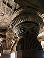 6th century pillars and reliefs, Badami Hindu cave temple Karnataka.jpg