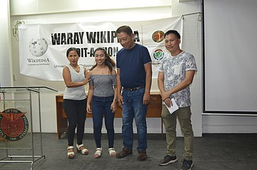 9th Waray Wikipedia Edit-a-thon 32.JPG