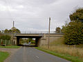 A1 motorway over Springwell Lane - geograph.org.uk - 586151.jpg