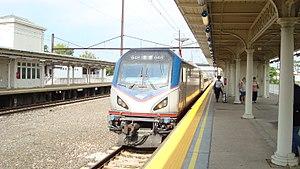 Keystone Service - A Keystone Service train at Lancaster, Pennsylvania in 2017