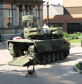 Air Defense Anti-Tank System self-propelled anti-aircraft weapon