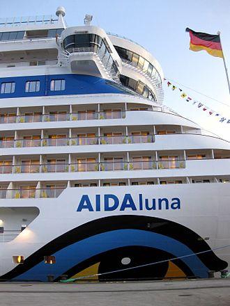 AIDAluna - At Hamburg Cruise Center HafenCity