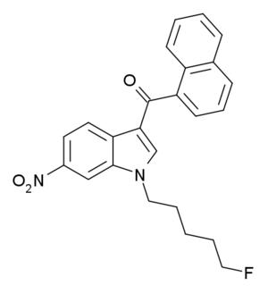 AM-1235 - Image: AM 1235 structure