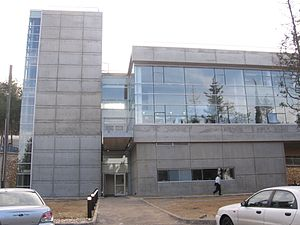 Asher Space Research Institute - The ASRI Building at Technion-Israel Institute of Technology'