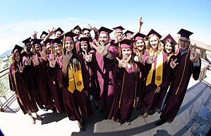 ASU Colleges at Lake Havasu City - ASU Havasu Graduates from the Spring 2016 Convocation.