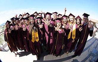 ASU Colleges at Lake Havasu City - ASU Havasu Graduates from the Spring 2016 Convocation.