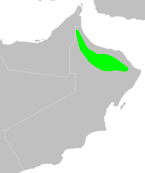 Al Hajar Mountains - Al Hajar Al Gharbi montane woodlands ecoregion