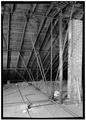 ATTIC DETAIL, NORTHEAST CORNER - Old Customs House, King at Sixth Street, Wilmington, New Castle County, DE HABS DEL,2-WILM,47-4.tif